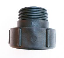 "IBC ADAPTER.Converts S75X6 Coarse Male Buttress to 2"" S60X6 Male Coarse Thread"